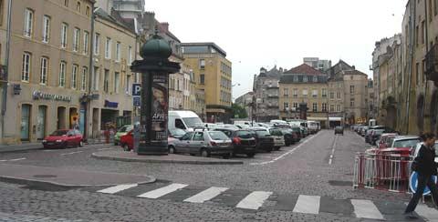 La Place Saint Louis, avant.
